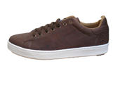 Sneaker in brown cork