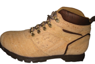 Natural cork boot