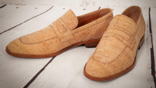 Natural cork classic shoe