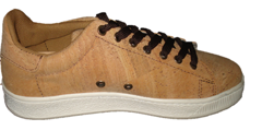 Natural cork sneaker
